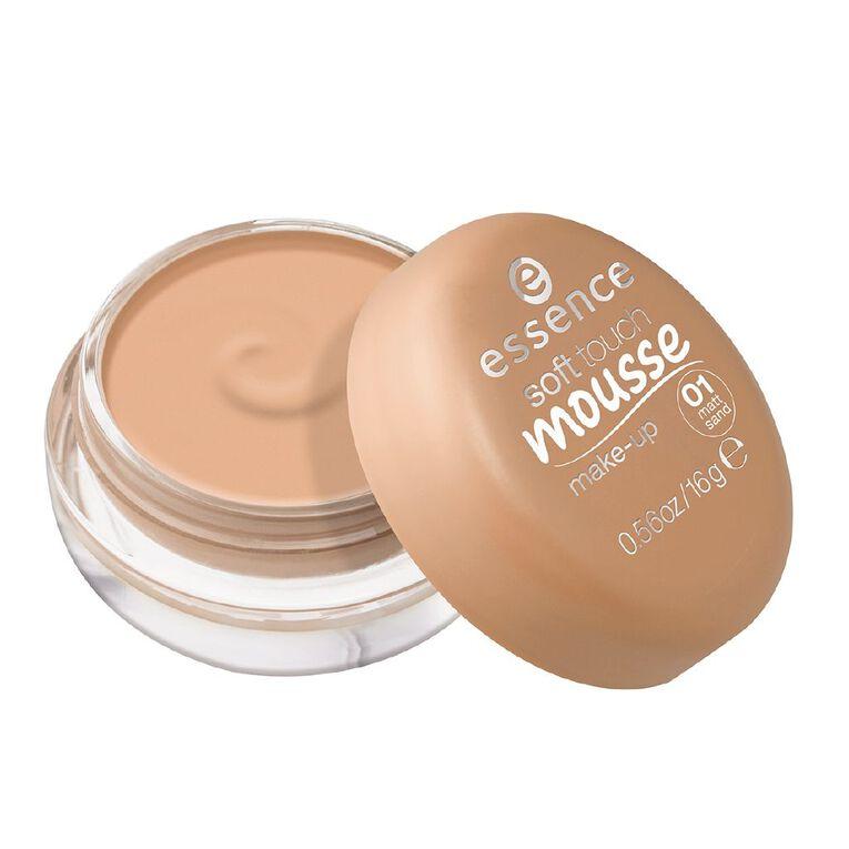 Essence Soft Touch Mousse Make-up 01, , hi-res
