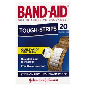 Band Aid Tough Strip Regular 20s