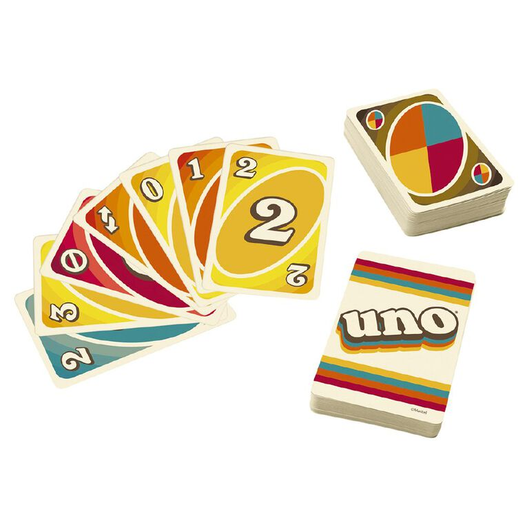UNO Game Iconics 70s Collector Card Game, , hi-res