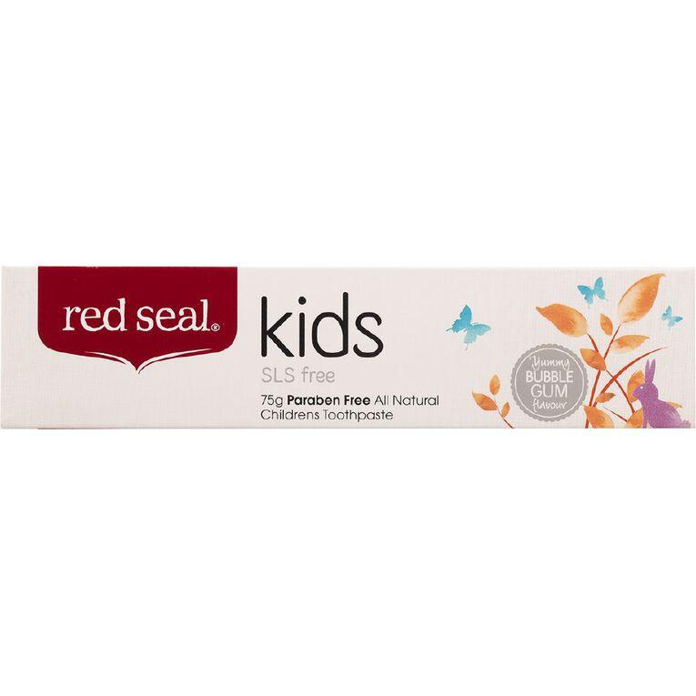 Red Seal Kids Toothpaste SLS Free 75g, , hi-res