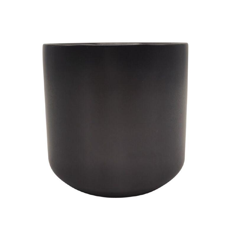 Kiwi Garden Rangitoto Pot Black 12cm, , hi-res image number null