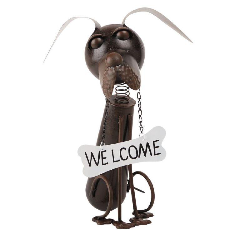 Kiwi Garden Metal Dog, , hi-res