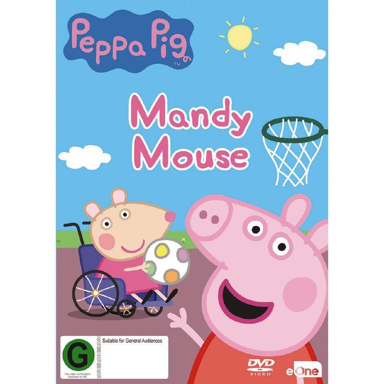 Peppa Pig Mandy Mouse DVD 1Disc, , hi-res