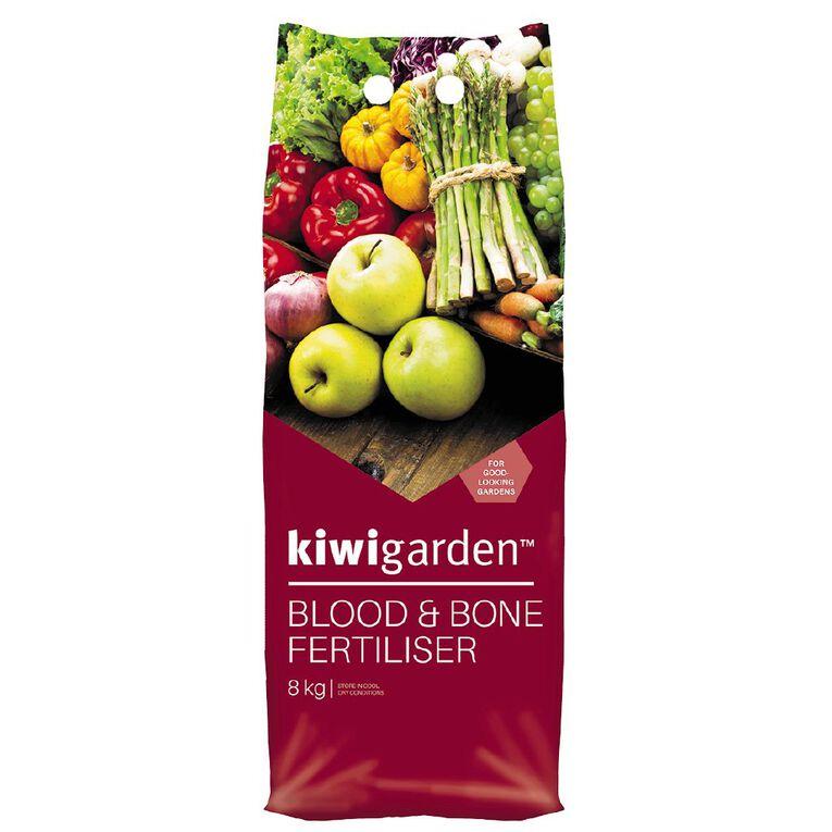 Kiwi Garden Blood & Bone Fertiliser 8kg, , hi-res