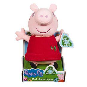 Peppa Pig Eco Plush Red Peppa 20cm
