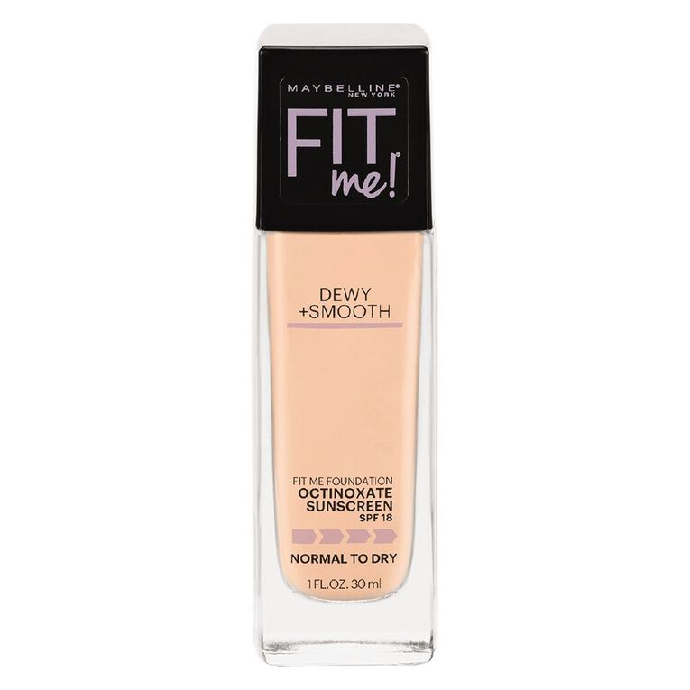 Maybelline Fit Me Dewy + Smooth Foundation 115 Ivory, , hi-res