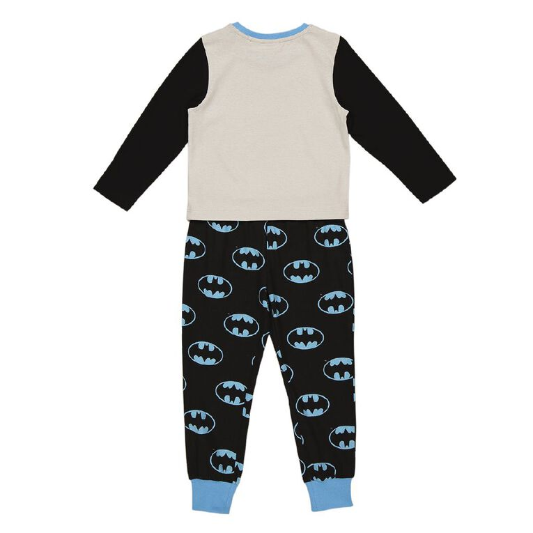Batman Boys' Knit Pyjama, Grey Dark, hi-res