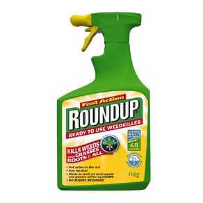 Roundup Fast Action Ready to Use Weedkiller 1L