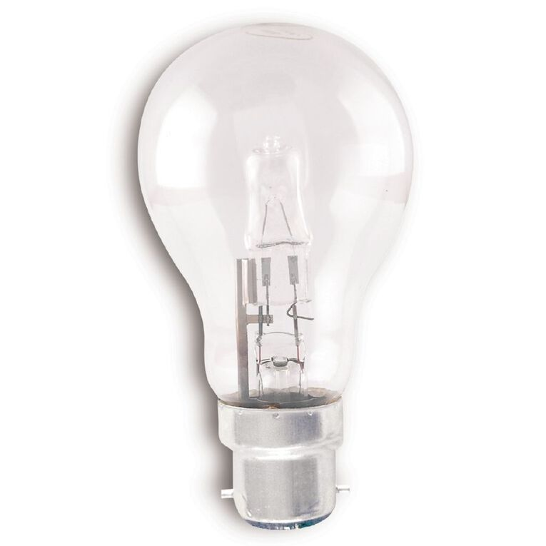 Edapt Halogen Classic Bulb B22 Clear 70w Warm White, , hi-res