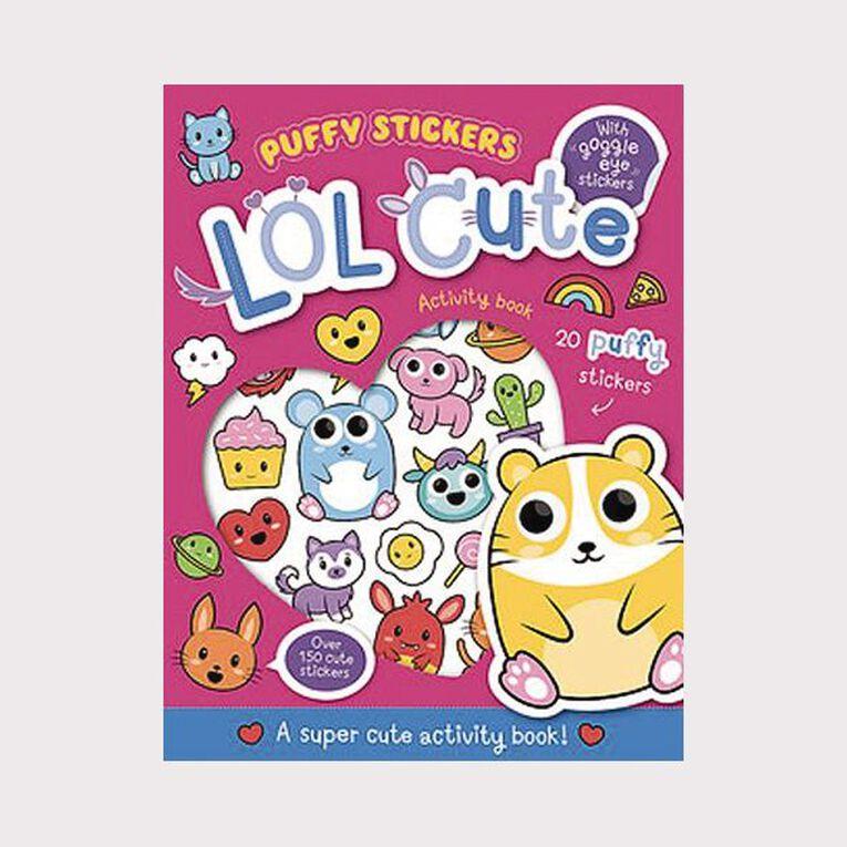 Wobbly-Eye Puffy Sticker Activity: LOL Cute, , hi-res
