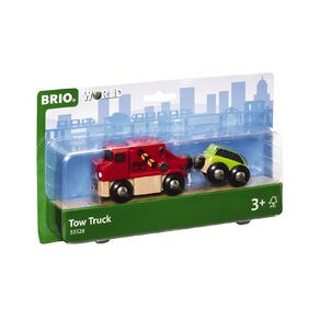 Brio Tow Truck and Car