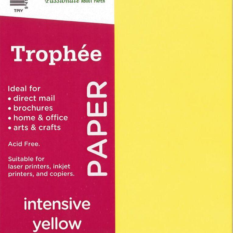 Trophee Paper A4 80Gsm 500Pk Intensive Yellow, , hi-res