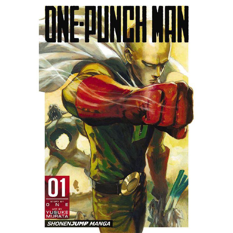 One-Punch Man Vol #1 by Yusuke Murata, , hi-res
