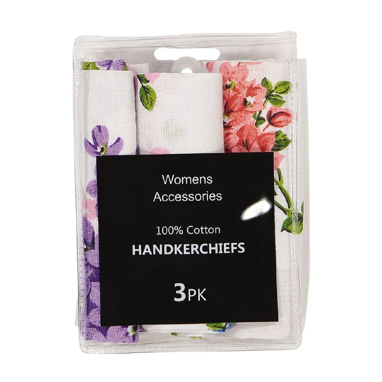 H&H Handkerchiefs, Multi-Coloured, hi-res
