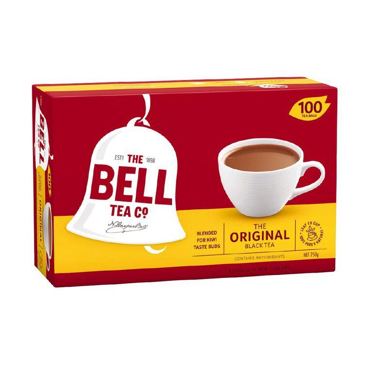 Bell Original Tagless Tea bags 100 Pack, , hi-res