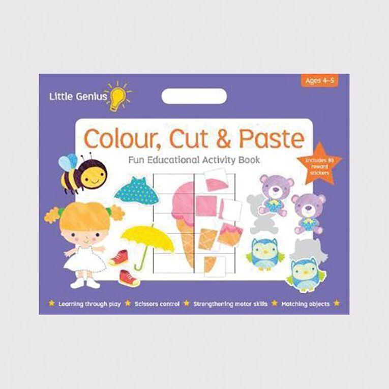 Little Genius Colour Cut & Paste Mega Pad, , hi-res