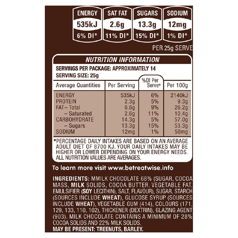 M&M's Milk Chocolate Family Bag 345g, , hi-res