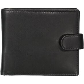 H&H Essentials Leather Tab Wallet