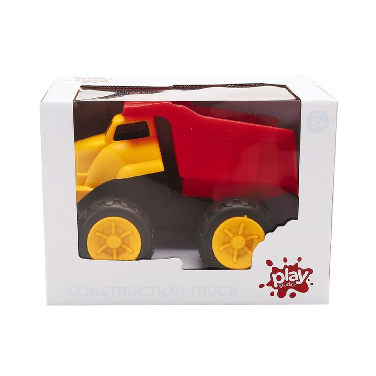 Play Studio Construction Toy Dump Truck, , hi-res
