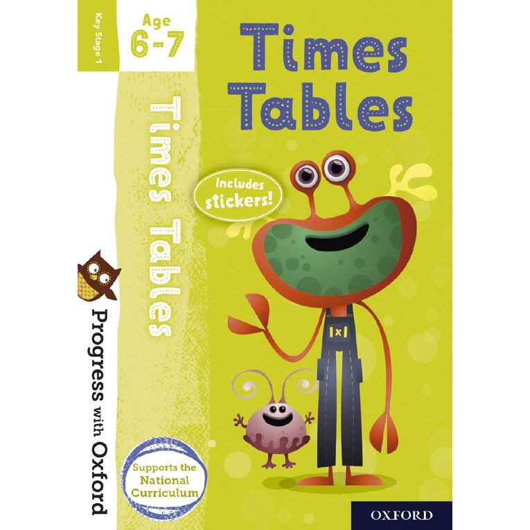 Times Tables Age 6-7 by Oxford University Press, , hi-res