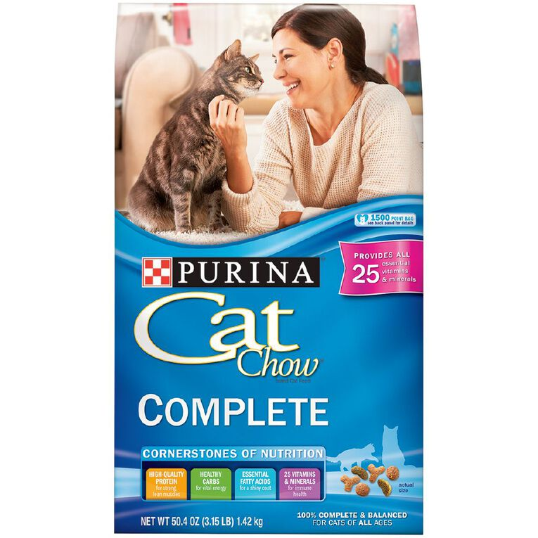 Purina Cat Chow Complete & Balanced 1.43Kg, , hi-res