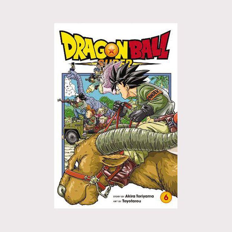 Dragon Ball Super Vol #6 by Akira Toriyama, , hi-res