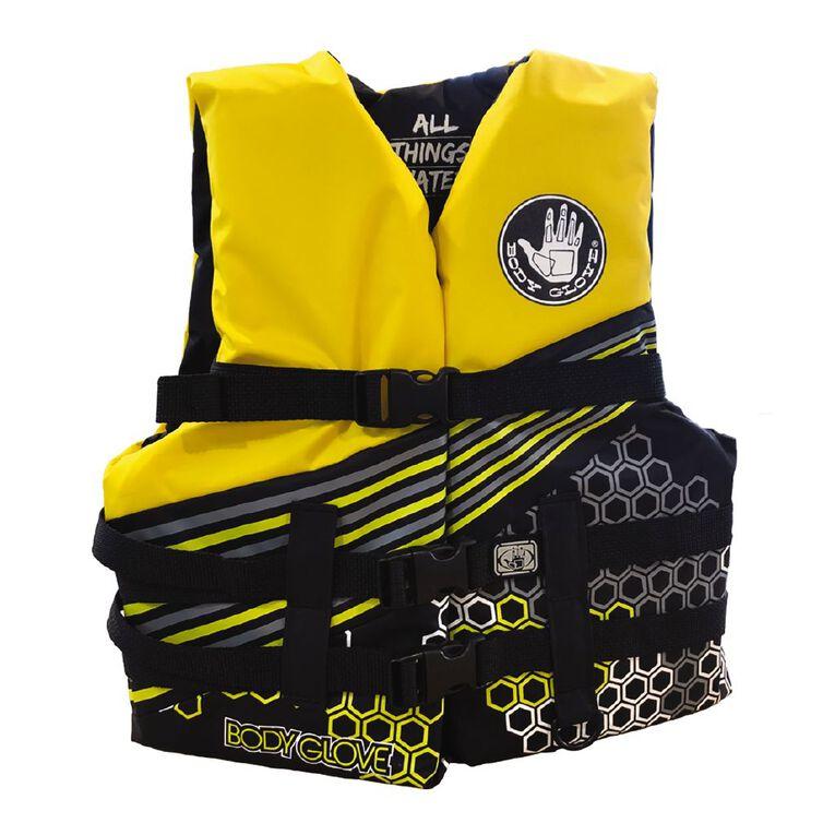 Body Glove Buoyancy Aid Youth Yellow Medium, , hi-res