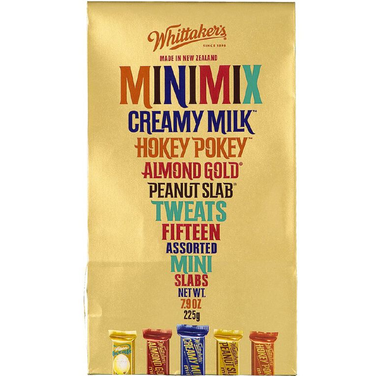 Whittaker's Boxed Assorted Mini Slabs 15 Piece 225g, , hi-res