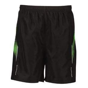 Active Intent Boys' Printed Panel Woven Shorts