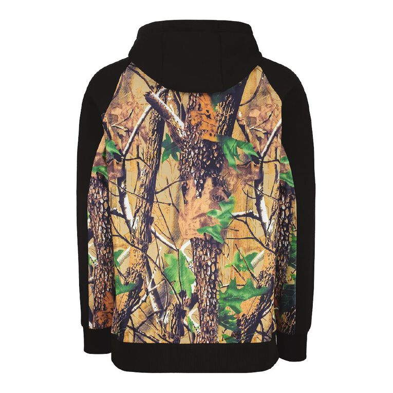 Back Country Pullover Hood Camo Print Sweatshirt, Brown Mid, hi-res