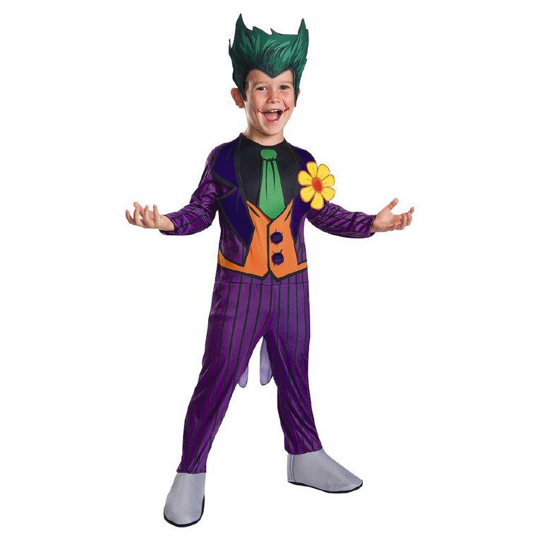 DC Warner Bros The Joker Classic Costume 6-8 Years, , hi-res image number null
