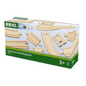 Brio Track Expansion Pack Beginner 11 Pieces