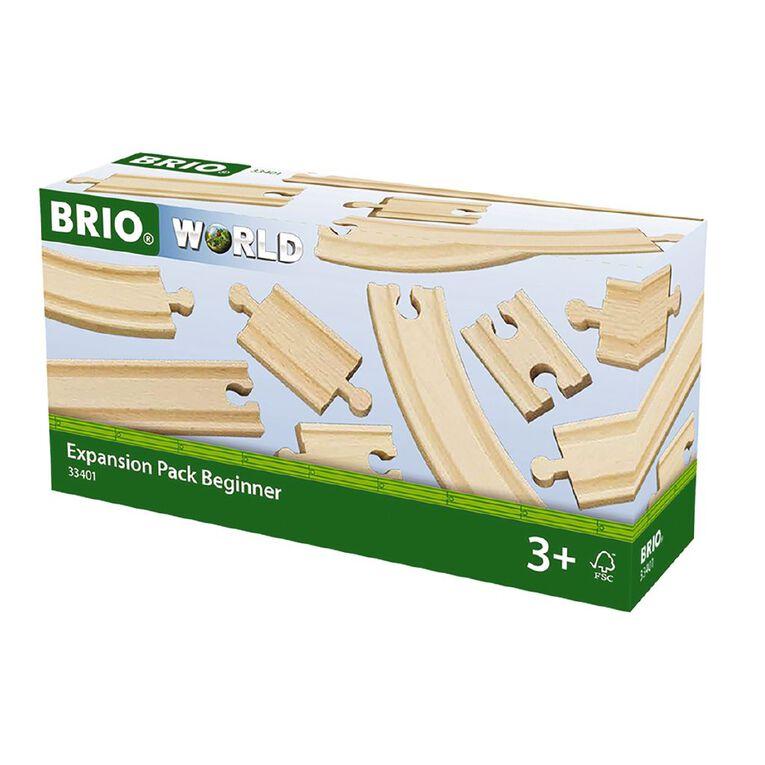 Brio Track Expansion Pack Beginner 11 Pieces, , hi-res