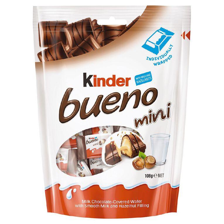 Kinder Bueno Minis 108g 20 Pack, , hi-res image number null