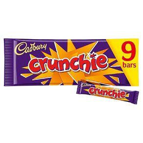 Cadbury Crunchie 26g 9 Pack