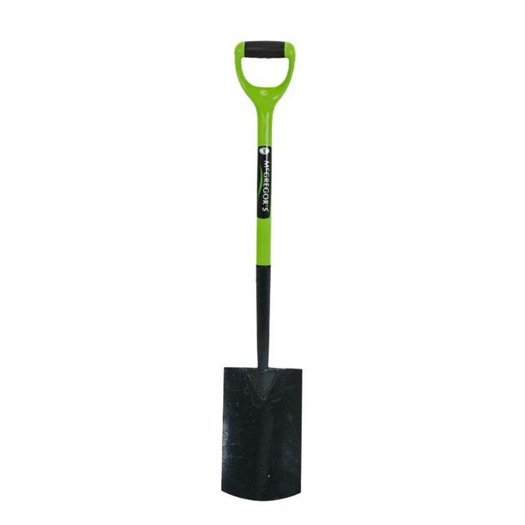 McGregor's Carbon Steel Ergo Spade with Forward Facing Grip 100cm, , hi-res