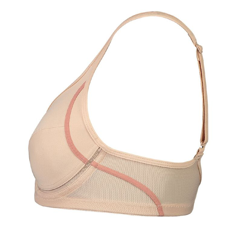 Be by Berlei Women's Underwire Sports Bra, Natural, hi-res