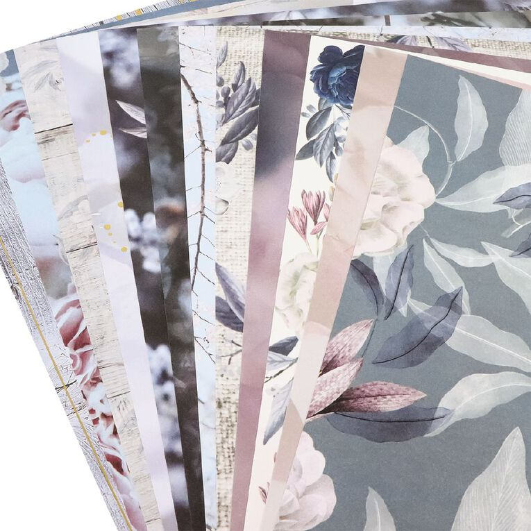 Uniti Morning Blossom Paper Pack 12x12 Inch 12 Sheets 220gsm, , hi-res