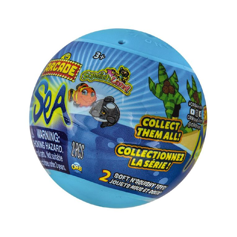 ORB Arcade Capsules Sqwishland Sea Collection Assorted, , hi-res
