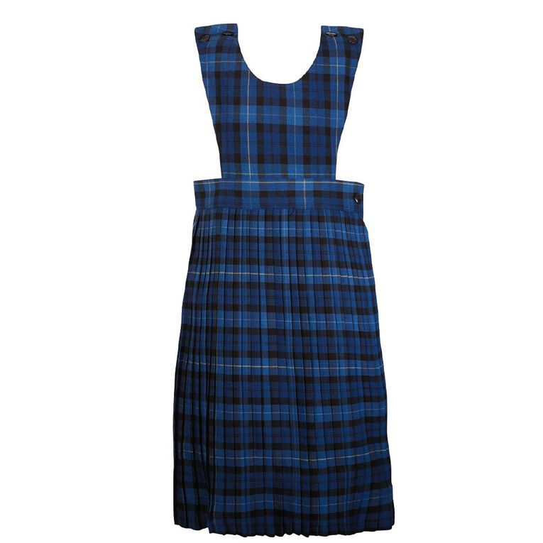 Schooltex Knife Pleat Pinafore, Schooltex Tartan TRT001, hi-res