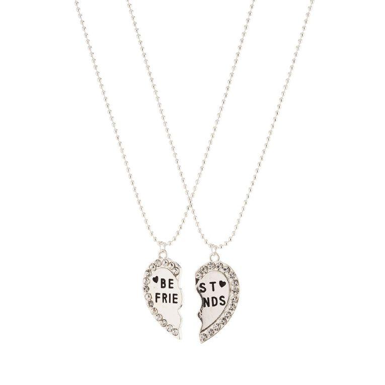 Friends Necklace, Silver, hi-res