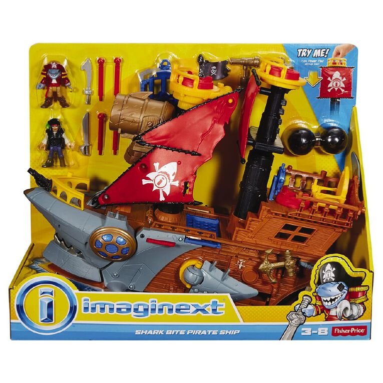 Fisher-Price Imaginext Pirate Ship Exclusive, , hi-res