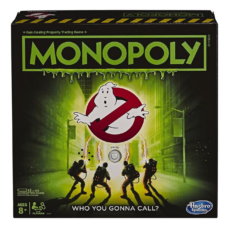 Ghostbusters Monopoly, , hi-res