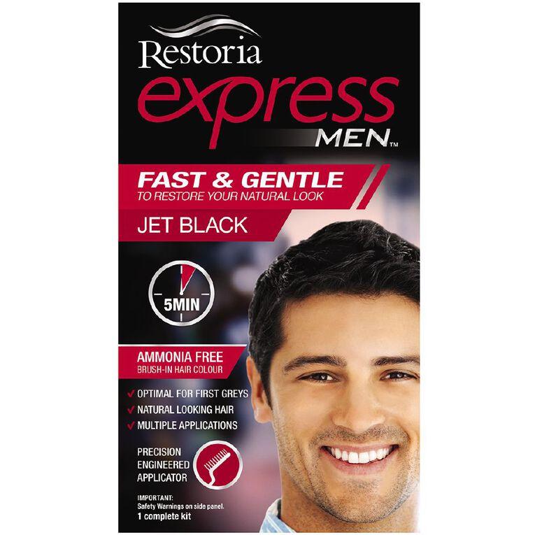 Restoria Express Men Jet Black, , hi-res
