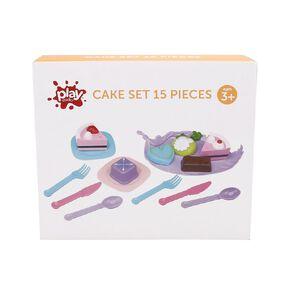 Play Studio Cake Set 15 Pieces