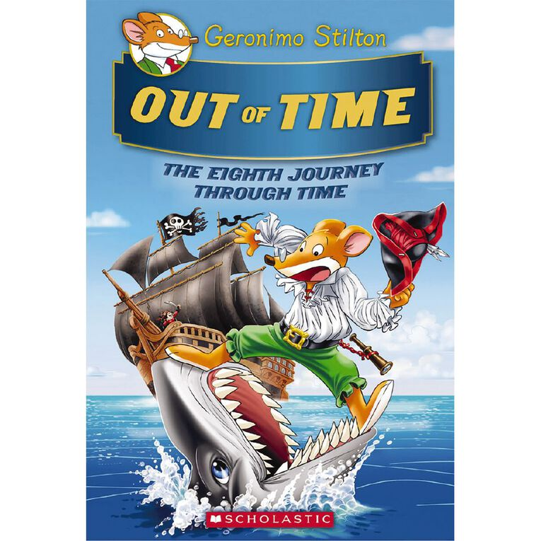 Geronimo Stilton Journey Through Time #8 Out of Time, , hi-res image number null