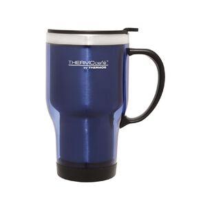 Thermos Travel Mug With Handle Blue 450ml