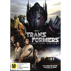 Transformers The Last Knight DVD 1Disc