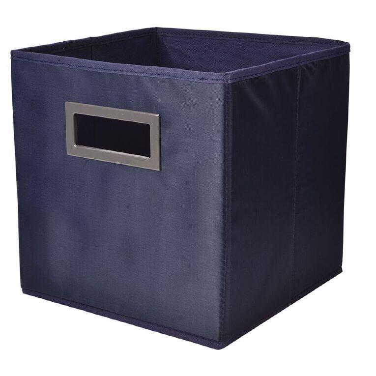 Living & Co Mason Cube Storage Insert Navy, , hi-res