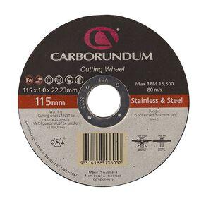 Carborundum Cutting Discs 115mm  x 22mm 10 Pack